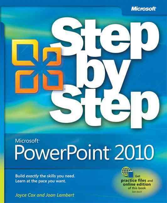 Microsoft PowerPoint 2010 Step by Step By Cox, Joyce/ Lambert, Joan